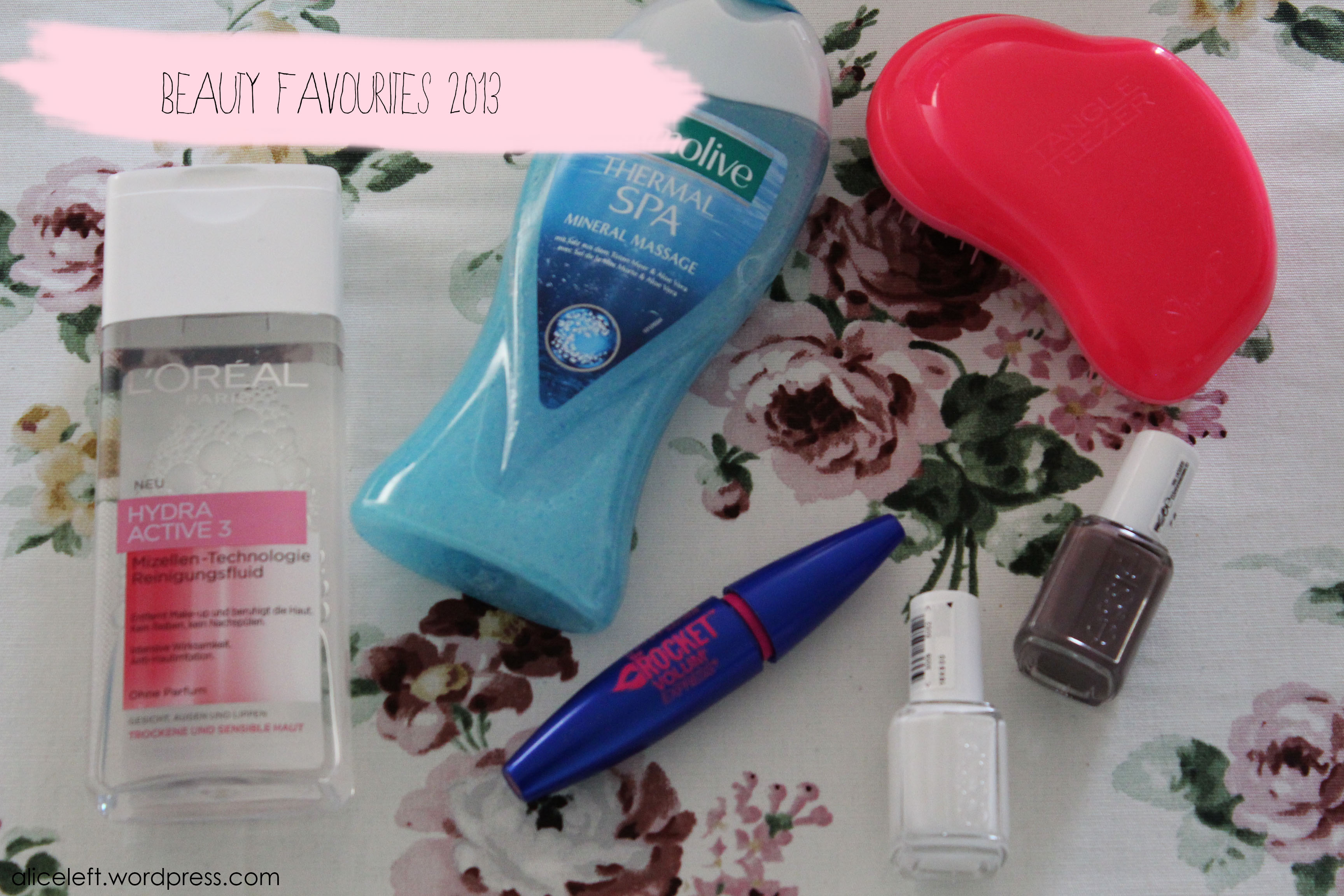 Beauty Favourites 2013